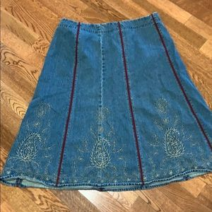 Liz Claiborne denim skirt